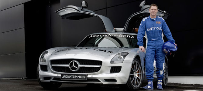Bernd Maylander, piloto oficial del SC en F1