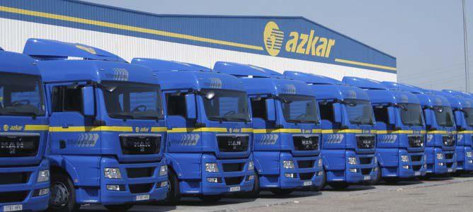 Flota de camiones Azkar