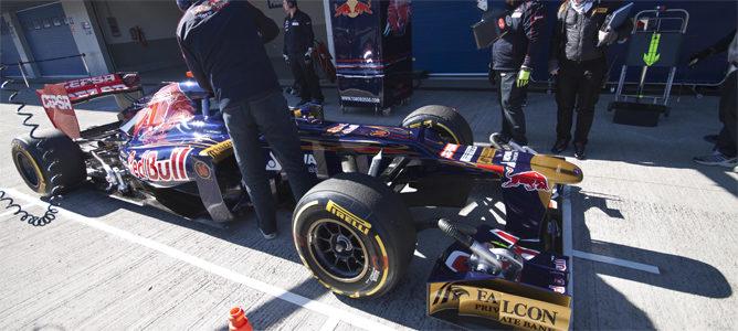 Ricciardo en el pit lane