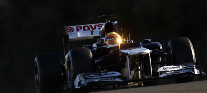 Maldonado rueda con el Williams