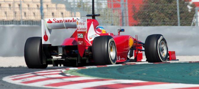 Alonso en el F2012