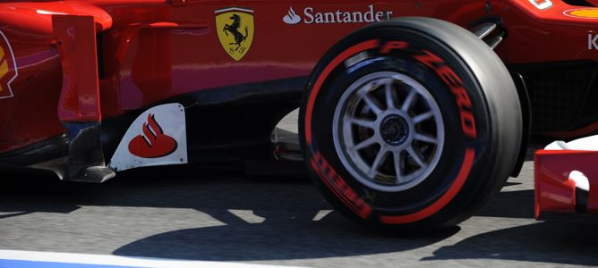 Pirelli en test de Barcelona