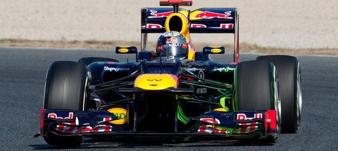 El Red Bull rodando con parafina