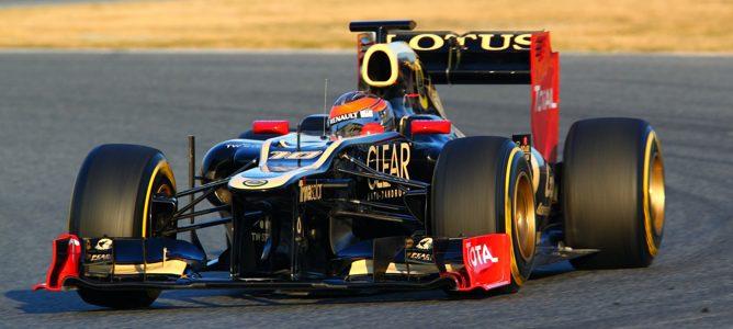 Romain Grosjean en Barcelona