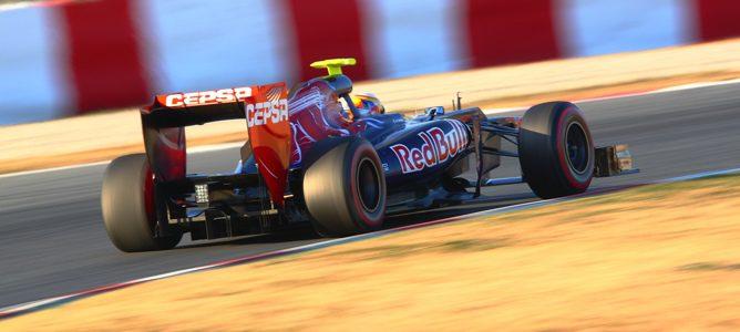 Toro Rosso en los test