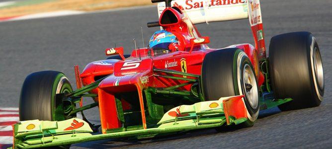 mucha parafina en el Ferrari de Alonso