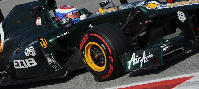 Un Pirelli P Zero montado en el CT01