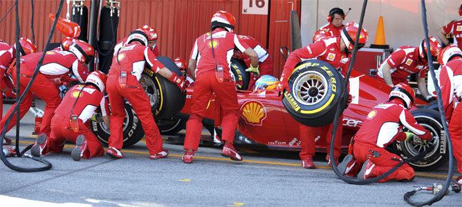 Pit-Stop de Ferrari