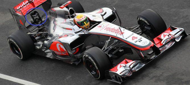 McLaren por el paddock