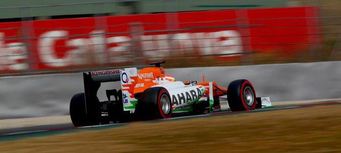 Force India en los test
