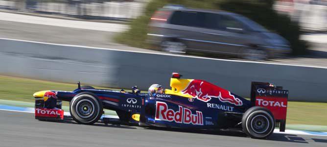 El Red Bull en pretemporada