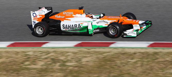 El Force India en pretemporada