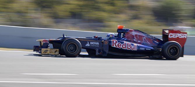 El Toro Rosso en pretemporada