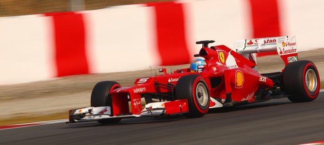 Fernando Alonso en el F2012