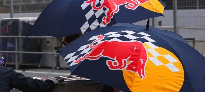 paragüas de Red Bull