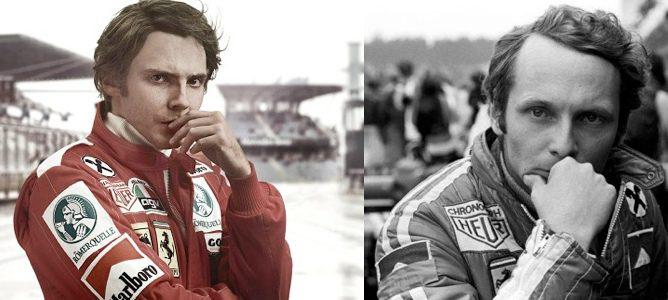 Daniel Brühl como Niki Lauda