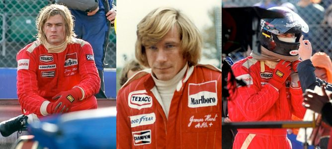 Chris Hemsworth como James Hunt