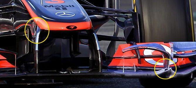 W-Duct de McLaren