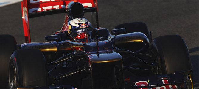 Daniel Ricciardo en su STR7