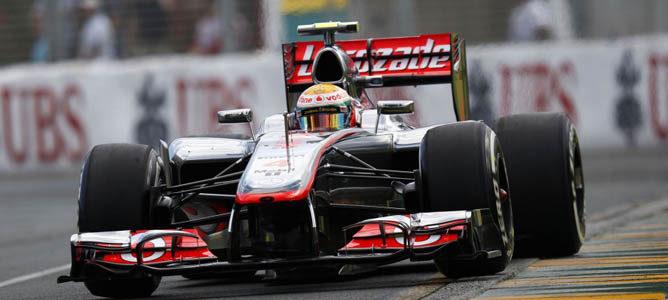 Hamilton lidera los libres 3, pese a la sorpresa de Grosjean 001_small