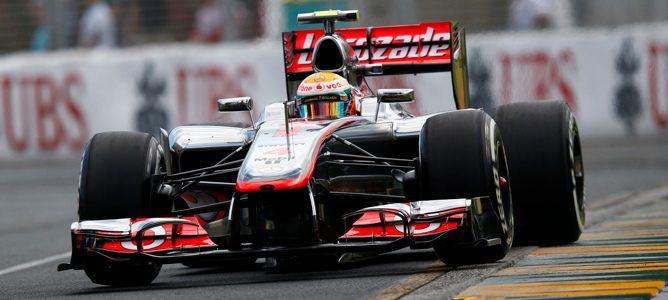 pole Lewis Hamilton Australia 2012
