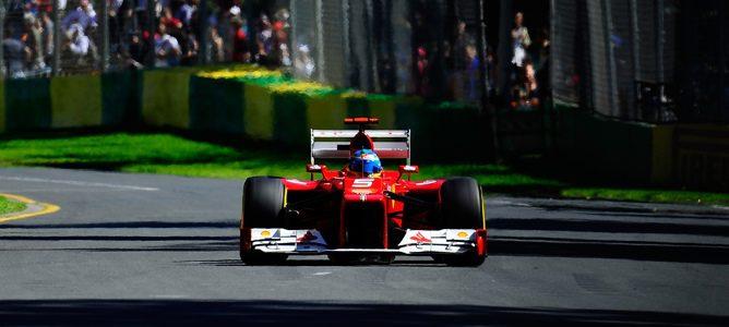 Fernando Alonso en el GP de Australia 2012