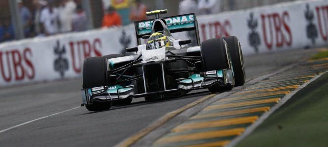 Rosberg en Australia 2012