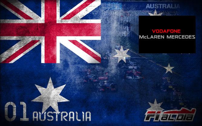 Cartel del GP de Australia