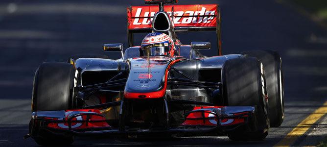 Un McLaren en Albert Park