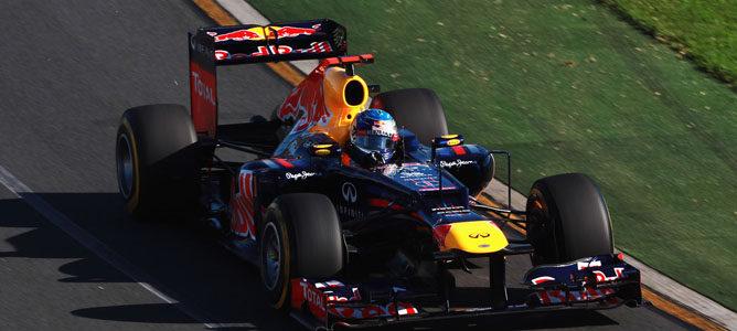Un Red Bull en Albert Park