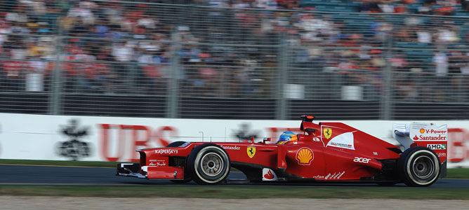 Un Ferrari en Albert Park