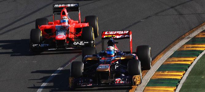 Un Toro Rosso en Albert Park