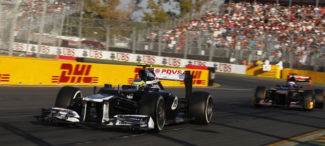 Un Williams en Albert Park