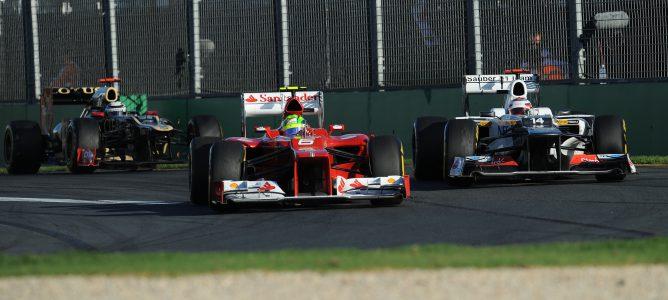 Massa en Australia 2012