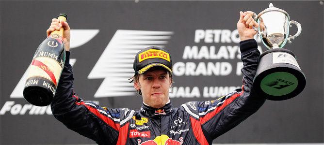 Sebastian Vettel gana el GP de Malasia 2011 F1