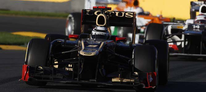 Kimi Räikkönen en el circuito de Albert Park