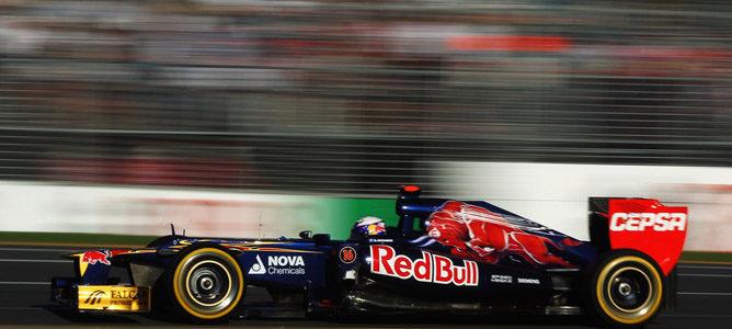 Daniel Ricciardo en el circuito de Albert Park