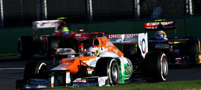 Paul di Resta en el circuito de Albert Park