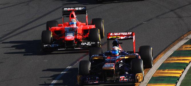 Jean-Eric Vergne en el circuito de Albert Park
