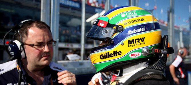 Bruno Senna en el circuito de Albert Park
