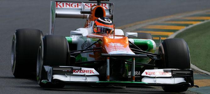 Nico Hulkenberg en el circuito de Albert Park