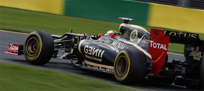 Kimi rueda en el Gran Premio de Australia