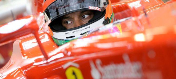 Karthikeyan en Ferrari