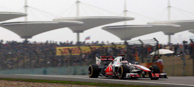Jenson Button ha visto como se escapaba la victoria en los últimos instantes