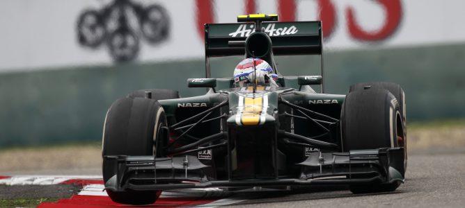 Vitaly Petrov en el GP de China