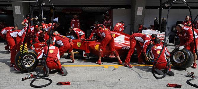 Ferrari tiene los mecánicos más rápidos de la Fórmula 1