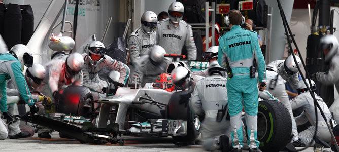 Mercedes pierde la primera posición con respecto a 2011