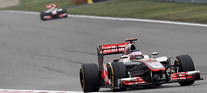 Los McLaren en el GP de China
