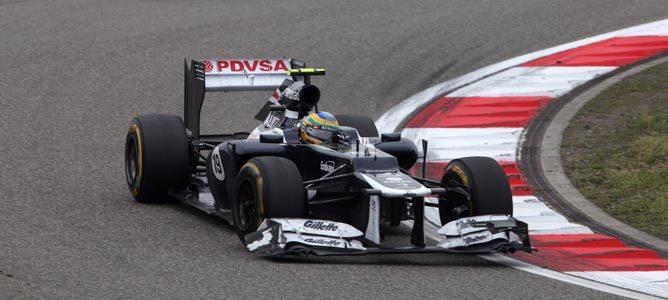 Un Williams en el GP de China