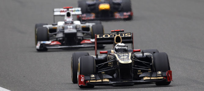 Un Lotus en el GP de China